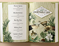 Flisak'76 Cocktails List
