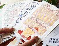Letterpress Cocktail Cards
