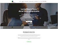 Smylingua - Wordpress website