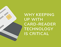 Motion infographic - card reader technology