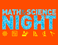 Special Event Graphics - Math & Science Night