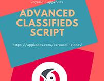 Classifieds Script With Advanced Features - Joysale Scr