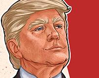 Trump's portraits