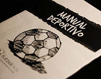 Manual Deportivo Fútbol Más // Gráfica, Editorial