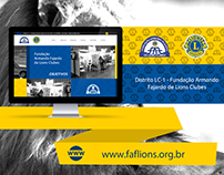 Web Design | Website FAF de Lions Clubes