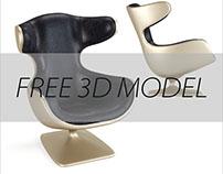 Free 3D model Кресло от VIO
