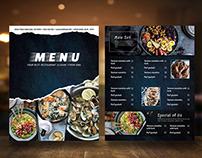 Restaurant Menu vol 51