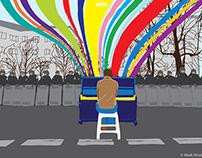 ELIASH STRONGOWSKI - Euromaidan posters