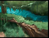 Nature Environment Concept