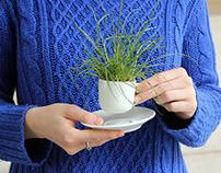 a cup of garden