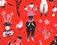 Mandrakes / Pattern