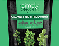 Simply Beyond Herbs & Spices - Branding & Packaging