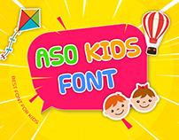 Aso Kids Font