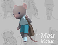 "Mr Moss Mouse ""Character Study"""