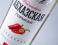 "Vodka design ""Abkhazskaya""/Дизайн водки ""Абхазская"""