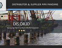Distributor & Supplier Pipa Pancang