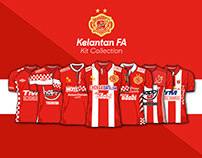 Kelantan FA Jersey Collection