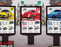 Rent a Car Poster Template