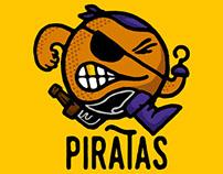 Piratas de Bogota FanArt x @maikelvargas