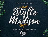 ESTYLLE MADISON - FREE FONT