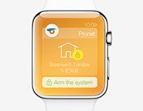 Pronet Apple Watch Concept