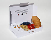 Plane Food - Inflight Meal Packaging