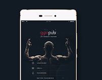 Gympulsr App Concept