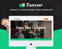 Danveer | Charity & Fund Raising HTML5 Template