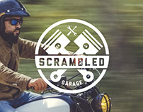 SCRAMBLED GARAGE - Logo