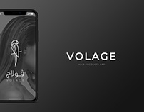 VOLAGE   App Ui/Ux Design