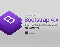 Bootstrap 4 Full UI Kit
