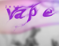just vape website concept