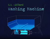H.H. Gifford Washing Machine | Animated infographics
