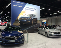 The All-New 2015 Sonata at Orange County Auto Show '14