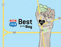 SFBG Best of the Bay 2018 Announcement Ads
