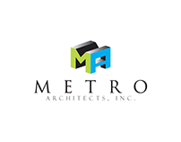 Metro Architects Logo Design