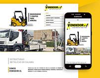 [Web design] - Site vitrine Vendedor.cl