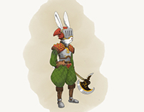 Rabbit axe