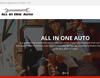 All In One Auto website