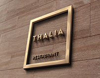 Thalia Restaurant Corporate Identity