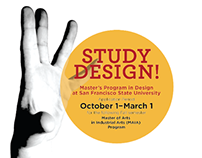 Dept. of Design and Industry Master's Program Posters
