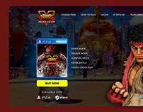 Street Fighter V | Interface Design