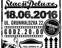 Posters for Stacja Deluxe Club vol. 2