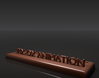 Realistic 3D chocolate