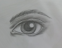 Human body sketch