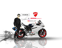 ryuseok motorcycle rider