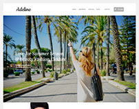 Adeline WordPress Fashion Clothing Theme