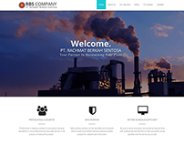 Website Company Profile PT. Rachmat Berkah Sentosa