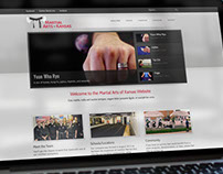 Martial Arts of Kansas Website Design