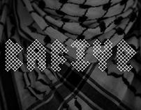 KAFIYE typeface